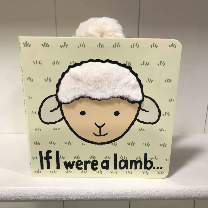 Jellycat If I were a Lamb Touch and Feel Book