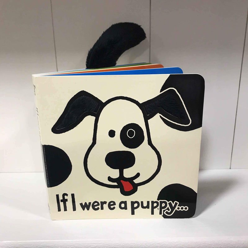 Jellycat If I were a Puppy Touch and Feel Book