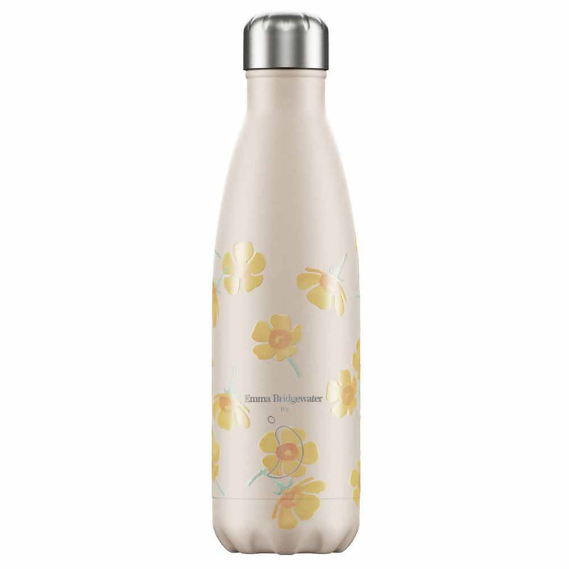 Chilly's Emma Bridgewater Buttercup Insulated Drinks Bottle 500ml