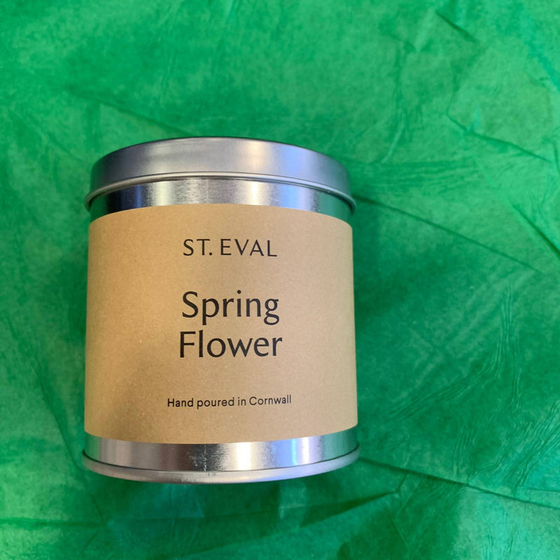St. Eval Tin Candle - Spring Flower