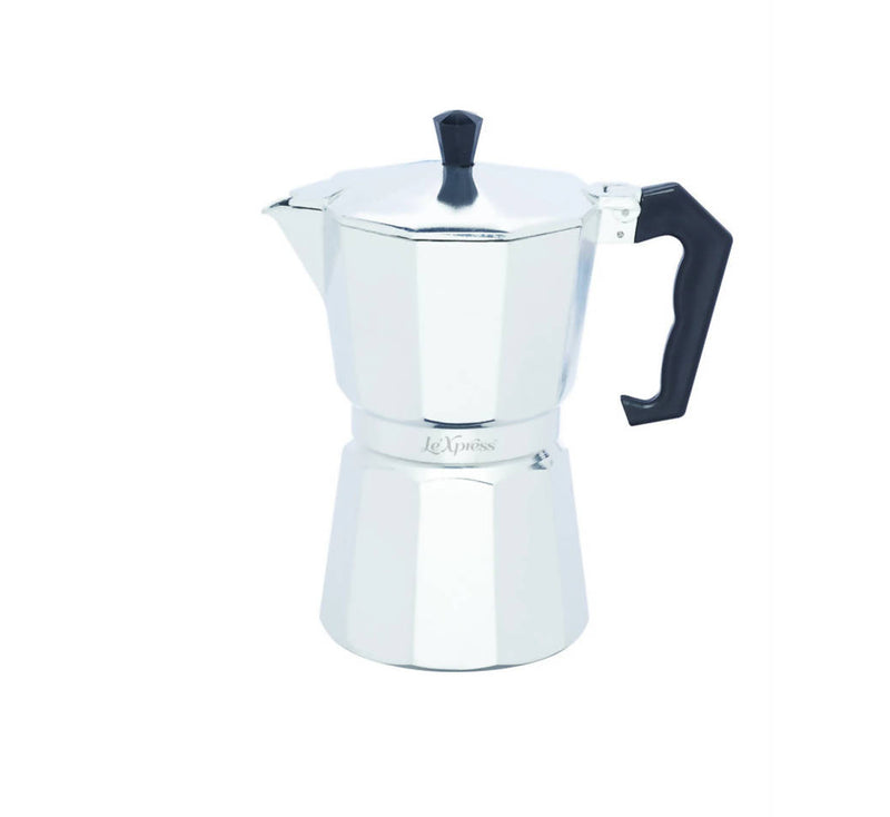 Kitchen Craft Le'Xpress Italian Style Expresso Maker 6 Cup (290ml)