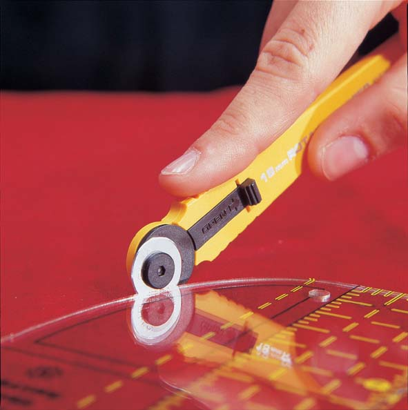 Rotary Cutter - Olfa: Extra Small: 18mm