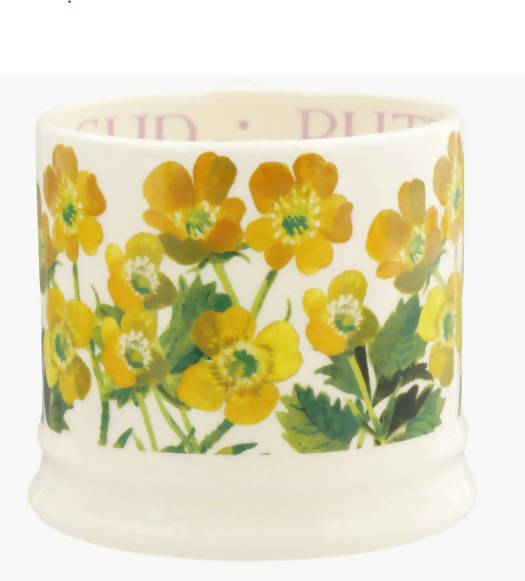 Emma Bridgewater Flower Buttercup Small Mug