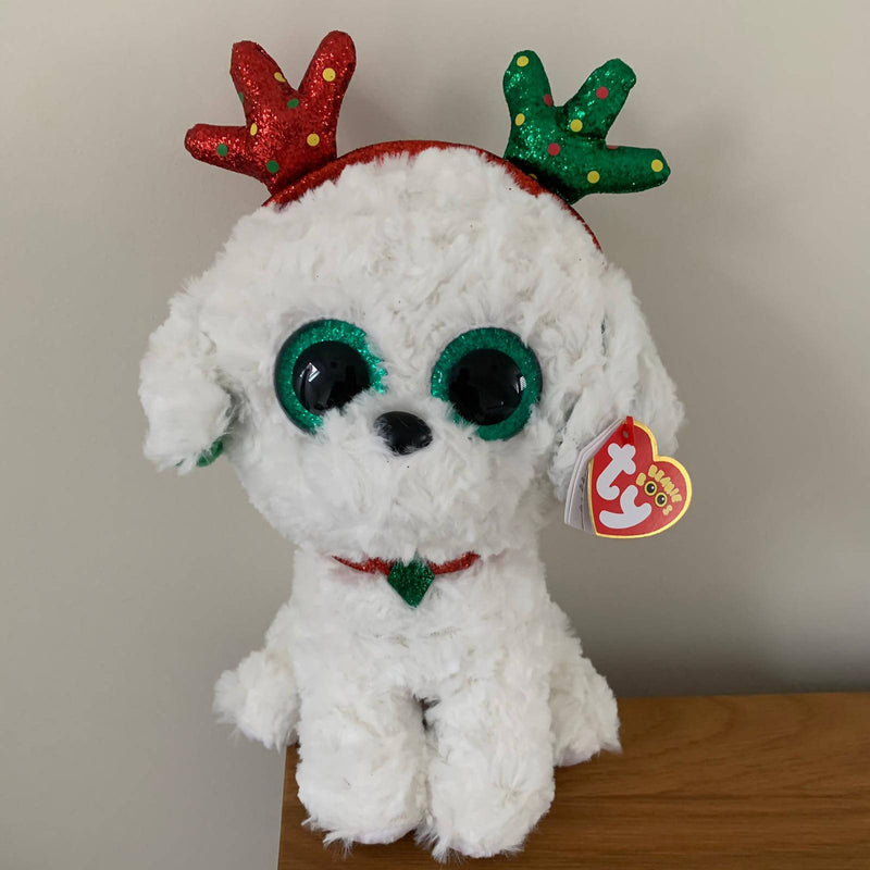 Ty Beanie Boo's Christmas Collection - Medium Sugar-was £11.95 now