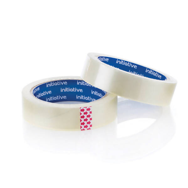 Adhesive tape - 6 x Clear Tape Rolls (25mm)