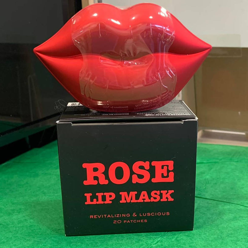 Kocostar Revitalising and Luscious Lips Masks - Rose (Pack of 20)
