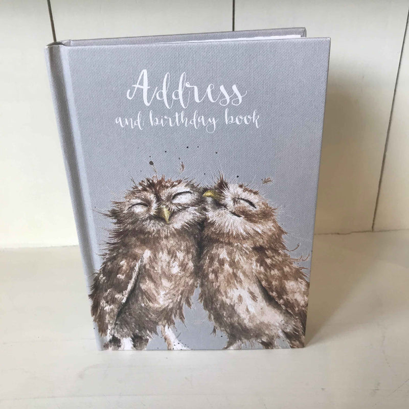 Wrendale Address and Birthday Book in Owl Design