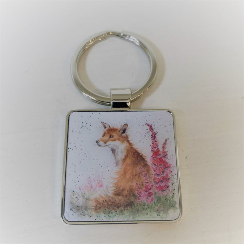 Wrendale Keyring Fox Design
