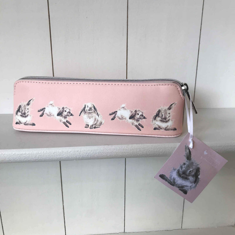 Wrendale Small Cosmetic Bag with Bunny Design