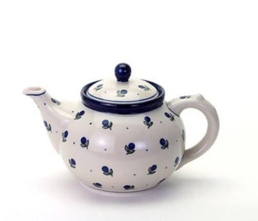Polish Pottery Teapot 1.2 Ltr