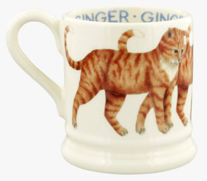 Emma Bridgewater Ginger Cat 1/2 Pint Mug