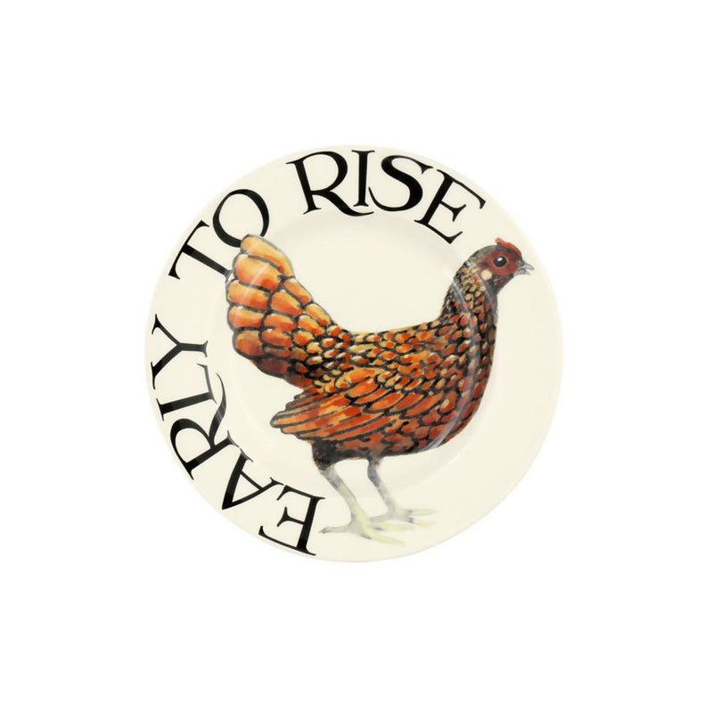 "Emma Bridgewater Rise & Shine Early to Rise 6.5"" Plate"