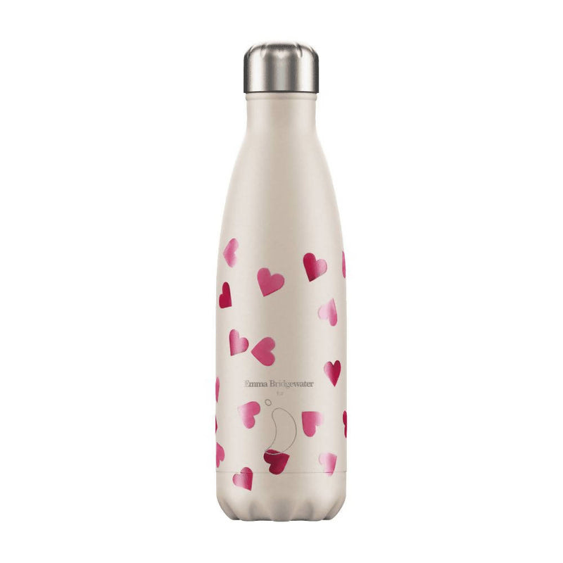 Chilly's Emma Bridgewater Hearts Insulated Drinks Bottle 500ml