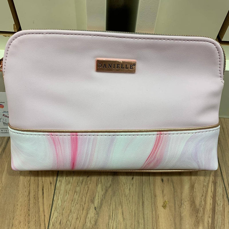 Medium Pink Cosmetic Bag
