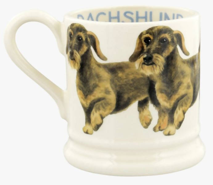 Emma Bridgewater Wire Haired Dachshund 1/2 Pint Mug