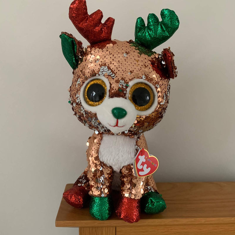 Ty Flippables Limited Edition Christmas - Medium Tegan-was £16.95 now