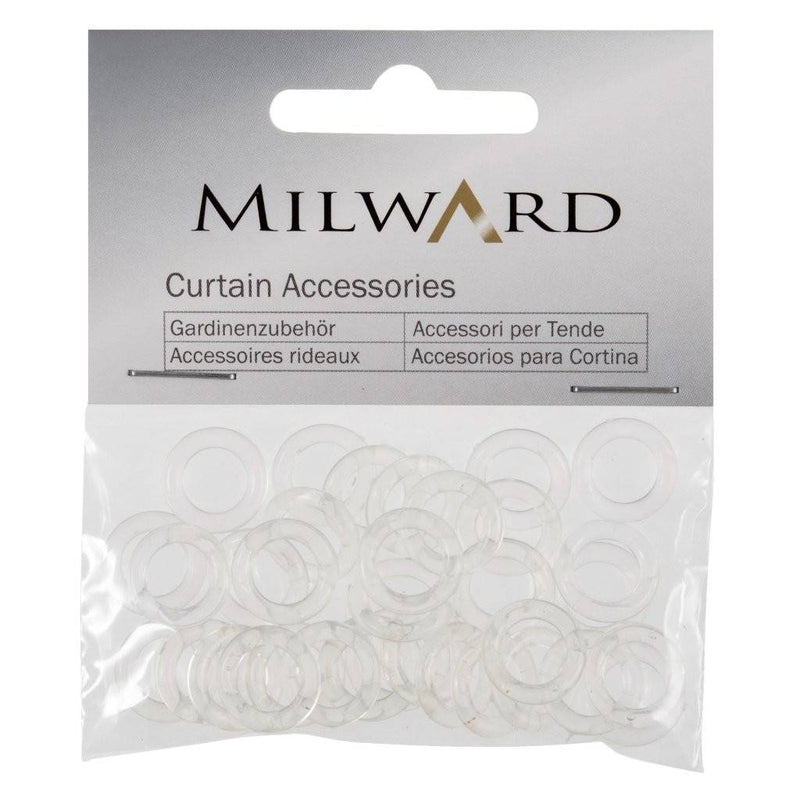 Austrian Blind Rings: 13mm: Clear: Pack of 30