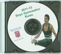 Gymnastics, Boys Rules Book in DVD format (2013)