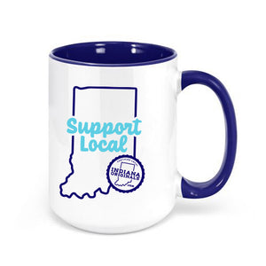 Support Local Ceramic Coffee Mug