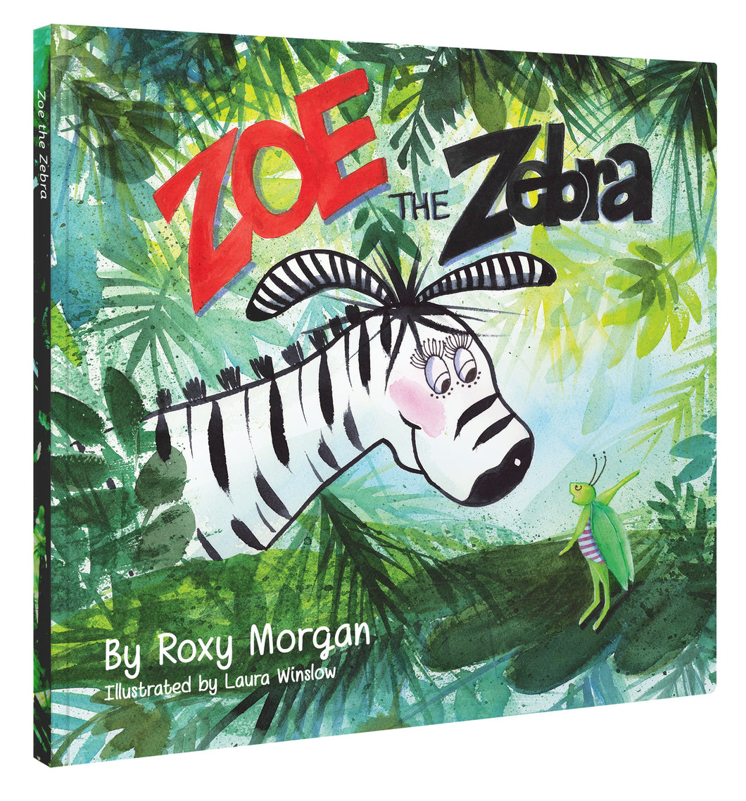 Zoe the Zebra Hardcover