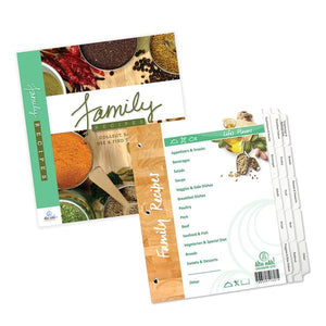 Family Recipe Organizer Kit