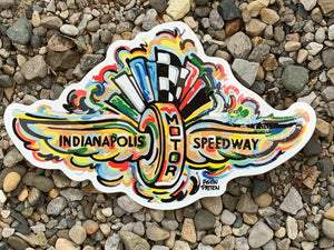 Indy 500 Sticker Waterproof Sticker