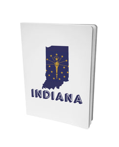 Indiana State Flag Outline Journal