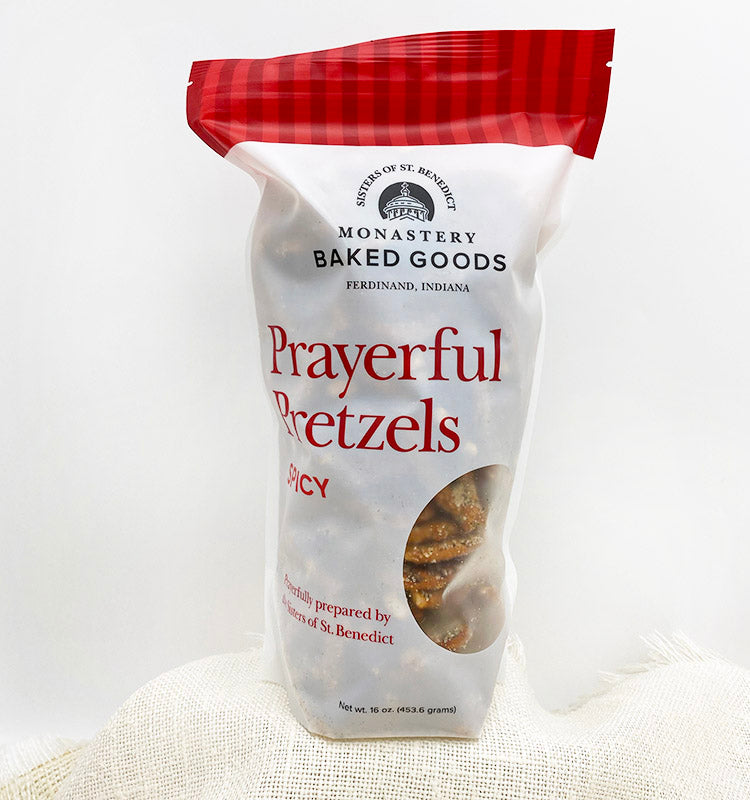 Prayerful Pretzels: Spicy