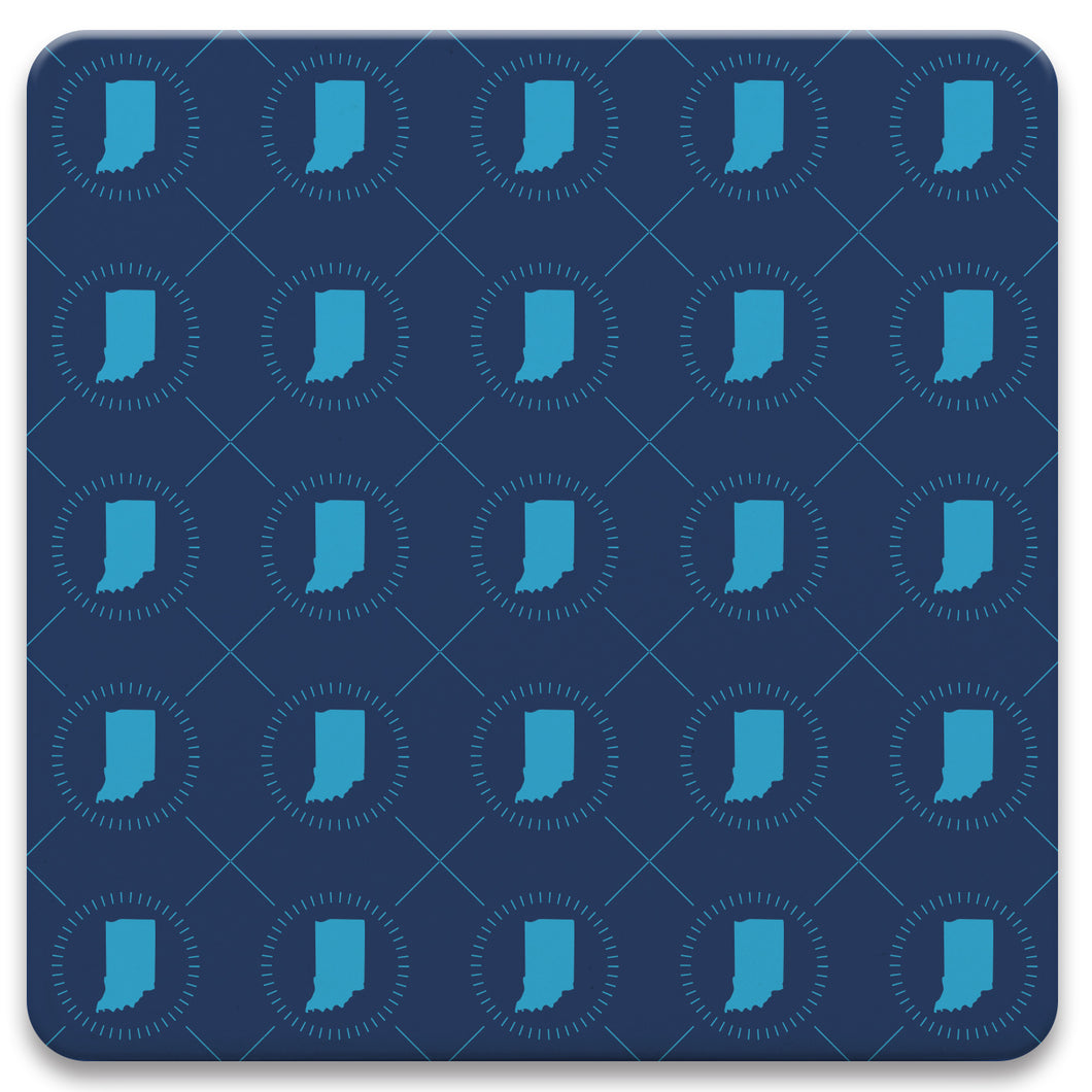 Indiana Tiled Coaster Set