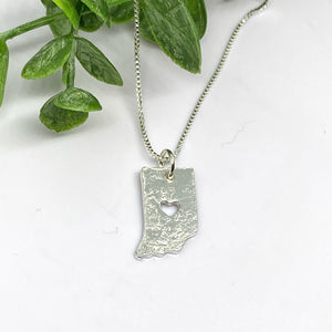 Indiana Love Sterling Silver Necklace