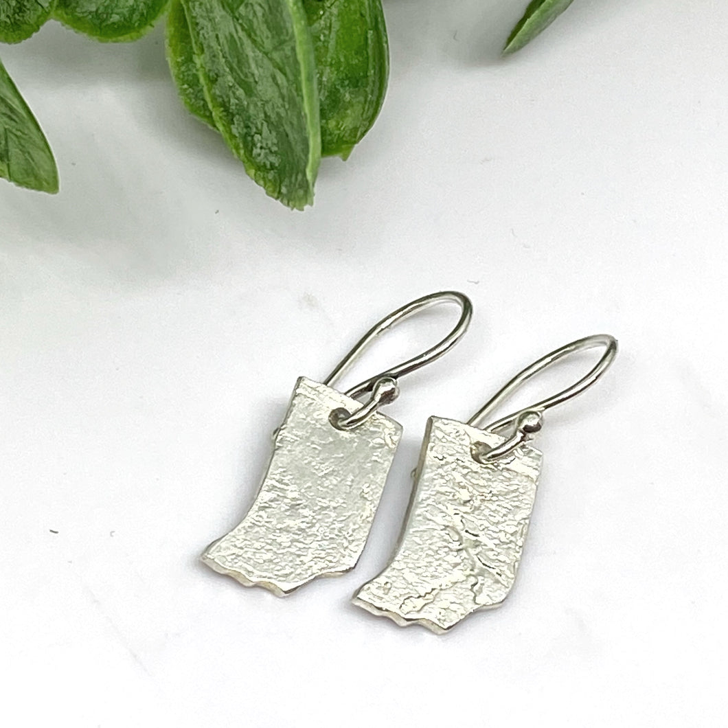 Indiana Love Sterling Silver Earrings