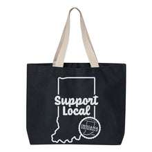 Load image into Gallery viewer, Support Local Canvas Tote Bag