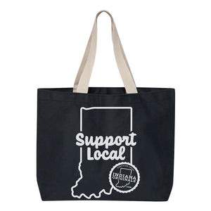 Support Local Canvas Tote Bag