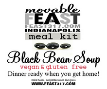 Load image into Gallery viewer, Black Bean Soup Meal Kit