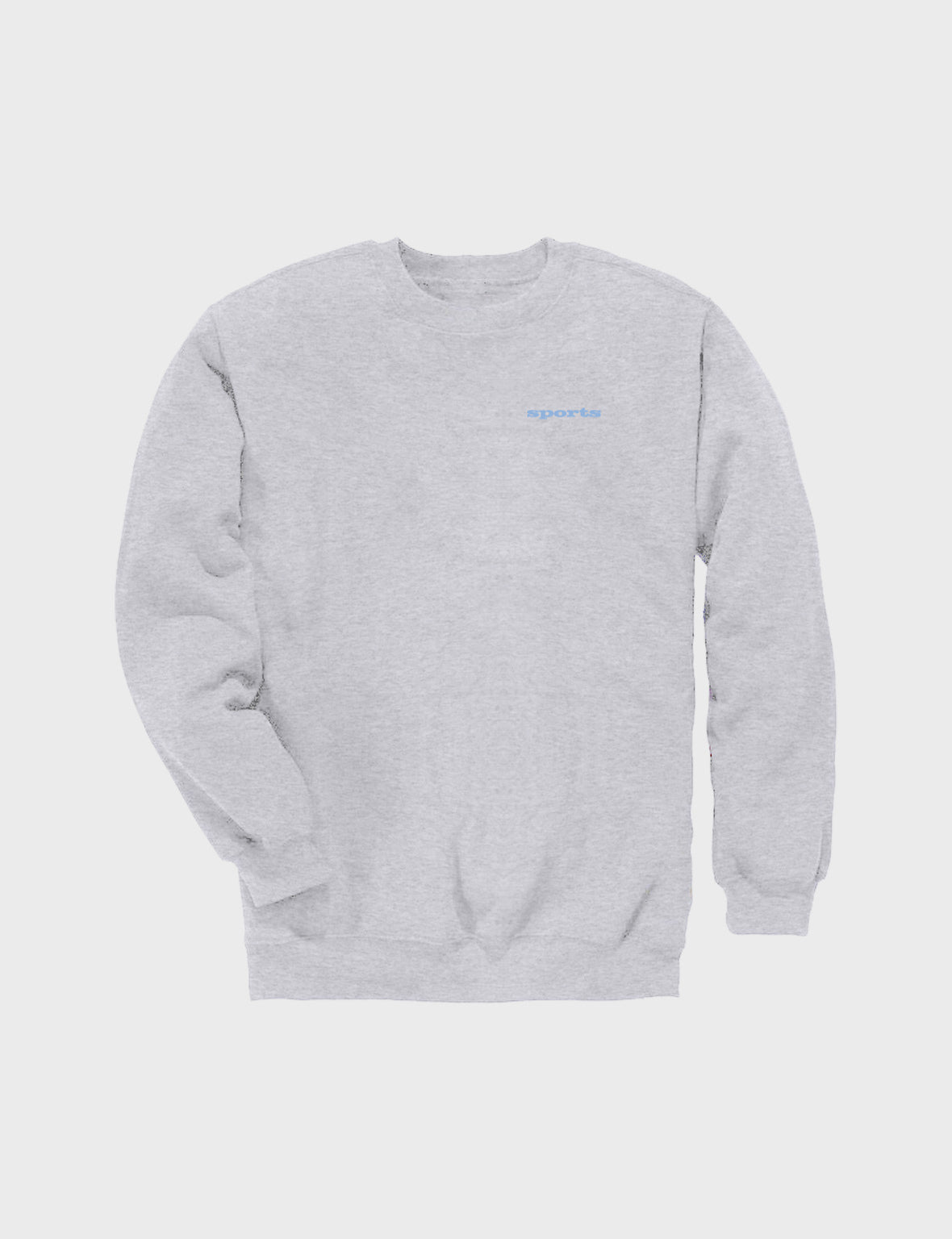 Sports Crewneck Sweatshirt (Grey)