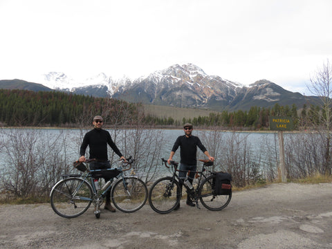 Bicycle Jasper cycling touring style mountains