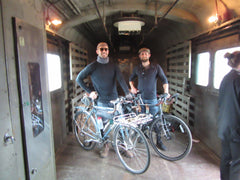 Bicycles on train velovoyagers