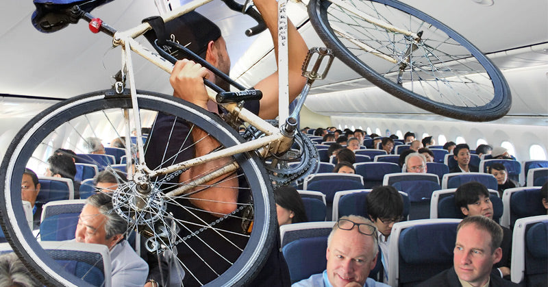 Bicycle on Plane