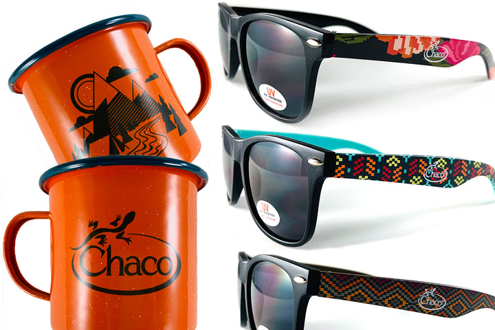 Chaco gifts with purchase collage