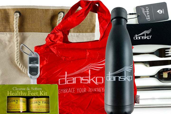 Dansko gifts with purchase collage