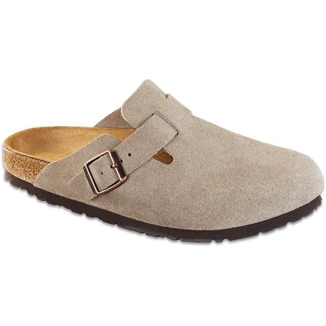 Birkenstock Boston Soft Footbed Taupe