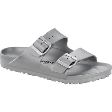 Women's Birkenstock Arizona Eva Narrow in Metal Silver
