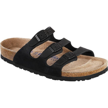 Birkenstock Florida Regular Soft Footbed Black Oil