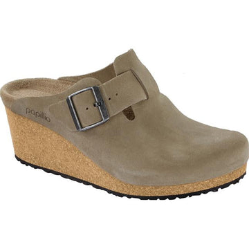 Women's Birkenstock Fanny Narrow in Taupe Suede sku: 1014830