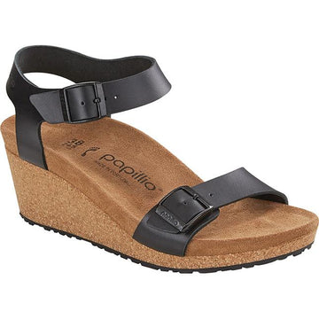 Women's Birkenstock Soley Narrow in Black sku: 1015828