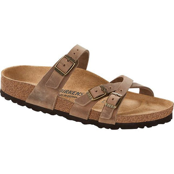 Women's Birkenstock Franca Regular in Tabacco Oil sku: 1015930