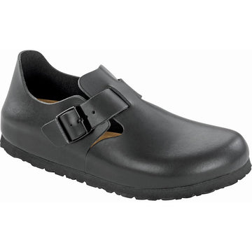 Men's Birkenstock London Soft Footbed Regular in Black sku: 1016680
