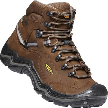Mens Keen Durand Ii Mid Waterproof Wide In Cascase Brown/ Gargoyl