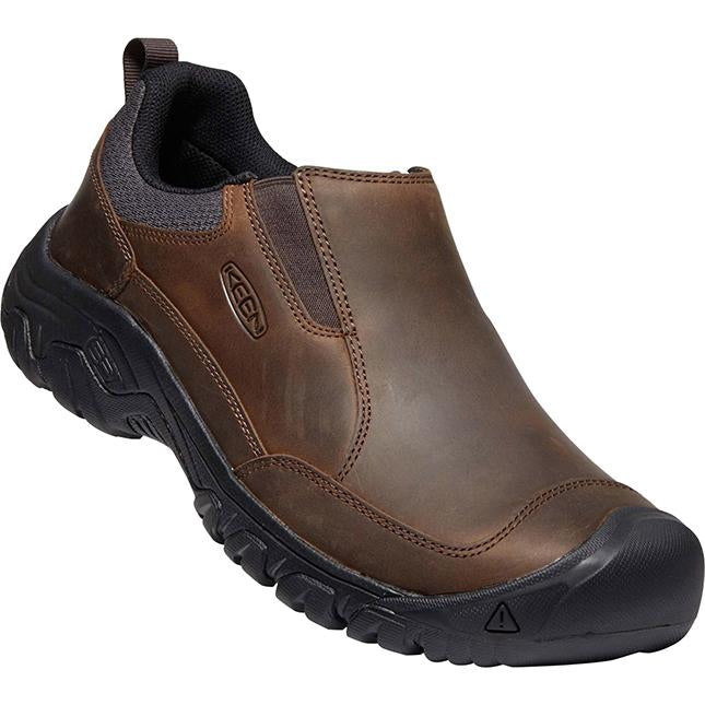 Men's Keen Targhee III Slip On in Dark Earth/ Mulch sku: 1022658