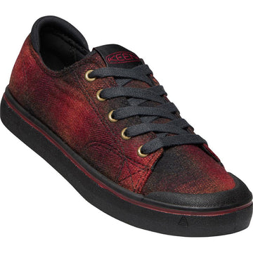 Women's Keen Elsa IV Sneaker in Red Plaid/ Black sku: 1023793